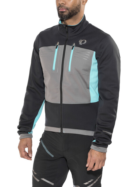 PEARL iZUMi Elite Escape Softshell Jacket Men Black/Smoked Pearl